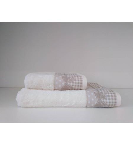 Serie 2 serviettes VICHY