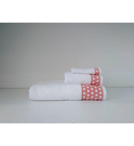 Serie 3 serviettes A POIS