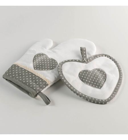 charme & douceur gant+manique